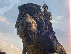 Mounted Dino